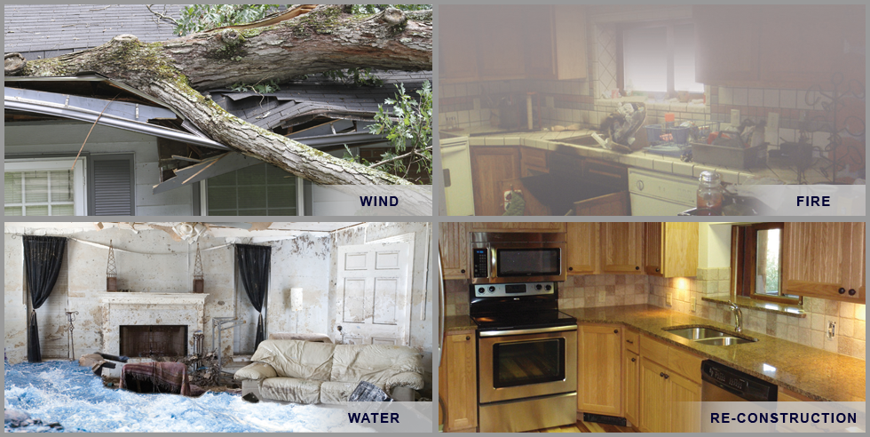 Damage Restoration for Wind, Water, & Fire