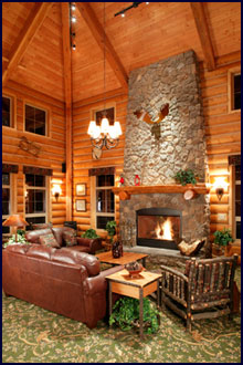 cabin living room