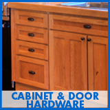 Cabinet & Door Hardware selections