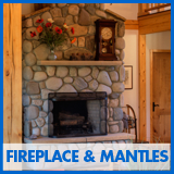 Fireplace & Mantle selections